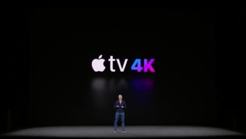 Новое поколение Apple TV поддерживает 4K