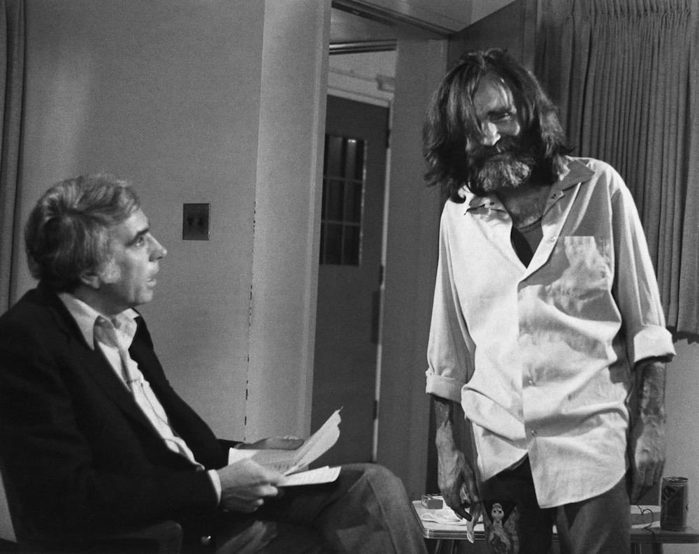 Мэнсон на интервью в 1986 году