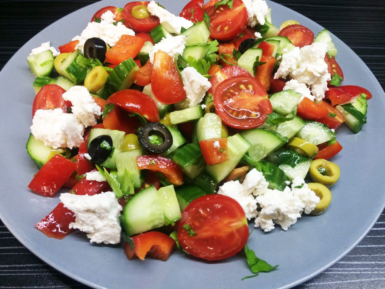Название и картинки салатов